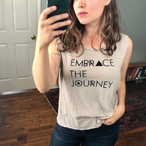 Onzie Embrace the Journey Hippie Muscle Tee M/L